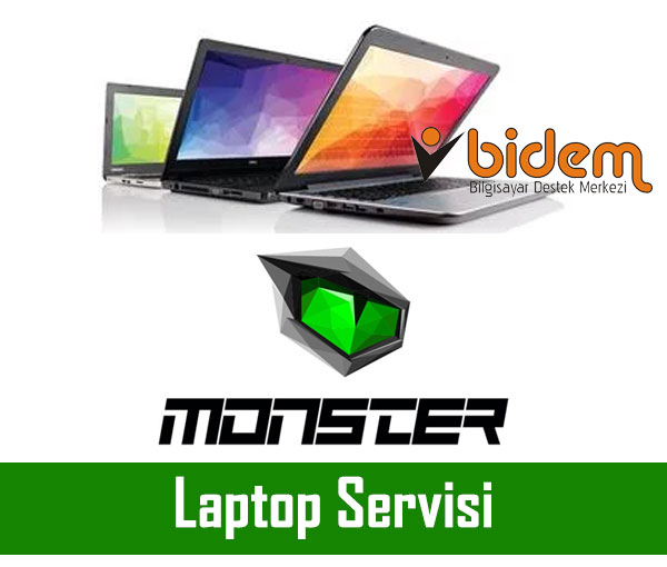 Monster Laptop Soket Tamiri